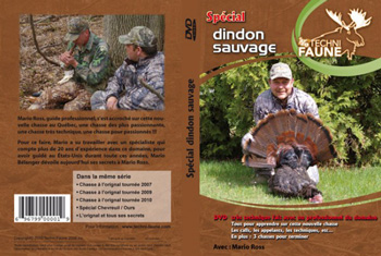 DVD chasse dindon sauvage