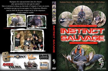 DVD Instinct Sauvage - ours coyotte