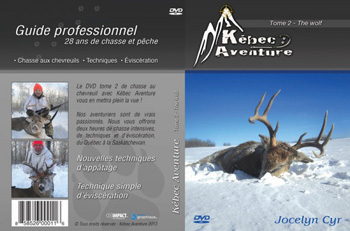 DVD Kebec Aventure techniques appatage chasse